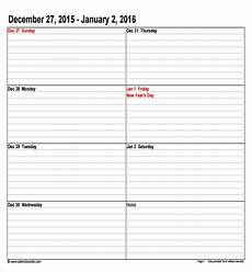 Calendar Appointment Template Free 9 Sample Calendar Templates In Pdf Excel