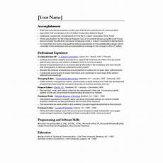 Transferring Within A Company Ten Great Free Resume Templates Microsoft Word Download