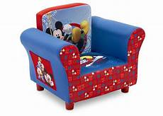 mickey mouse upholstered chair delta children