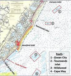 Tide Chart Hereford Inlet Nj Scouting Hereford Inlet Wrecks Amp Obstructions The Fisherman