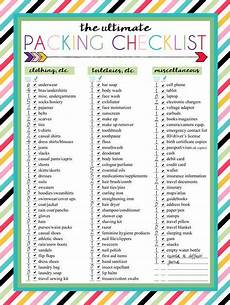 Pack This Checklist Printable 3 Free Printable Packing List Downloads In 2020 Packing