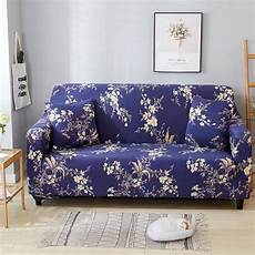 aliexpress buy floral printed blue sofa cover