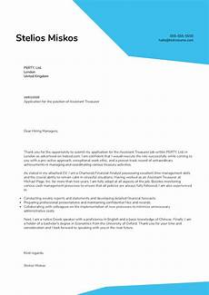 Assistant Treasurer Cover Letter Assistant Treasurer Cover Letter Sample Kickresume