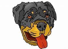 ausmalbilder hunde rottweiler batavusprorace