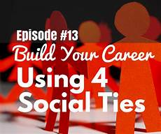 Your Career Build Your Career Using These 4 Types Of Social Ties