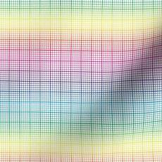 Rainbow Graph Paper Rainbow Graph Paper Small Rainbow Spoonflower