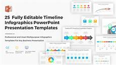 Powerpoint 2010 Timeline Template 25 Fully Editable Timeline Infographics Powerpoint Ppt