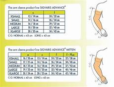 Sleeve Measurement Chart Sigvaris Advance Class 2 Natural Arm Sleeve With Seamless