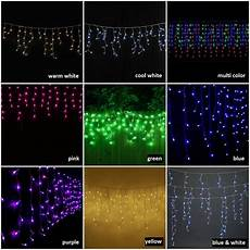 Extra Long Icicle Christmas Lights Blue Led Icicle Christmas Lights Outdoor Extra Long