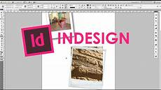 creare cornice foto tutorial indesign in italiano impaginare le fotografie
