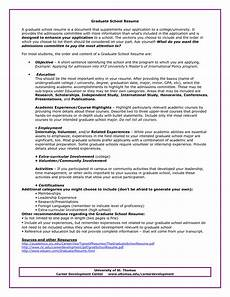 Graduate School Resume Examples Graduate School Sample Resumes Resume For Graduate