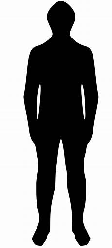 Human Outline File Human Outline Generic Svg Wikimedia Commons