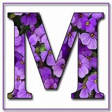 flower wallpaper letter enchanted s quot purple flowers quot free scrapbook