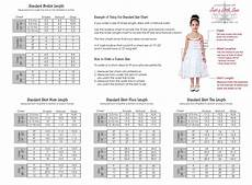 Tulle Clothing Size Chart Tutu Dress Size Chart By Justalittlesassshop On Etsy