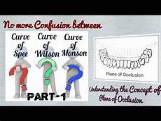 Curve Of Spee Plane Of Occlusion Part 1 Curve Of Spee Compensating