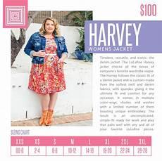 Lularoe Denim Jacket Size Chart Harvey Womens Jacket With Images Denim Fabric Lula