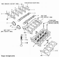 Hyundai Elantra Cylinder Head Components And Components