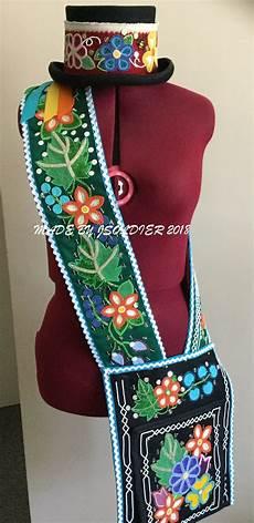 bandolier bag and top hat 2018 beadwork designs