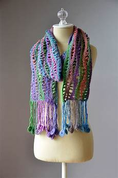 crochet patterns free pattern friday crochet coin scarf universal yarn