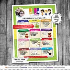 School Event Flyer Event Flyer Printable Pta Calendar Ptn Calendar