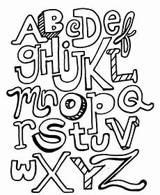 block letter coloring pages at getcolorings free