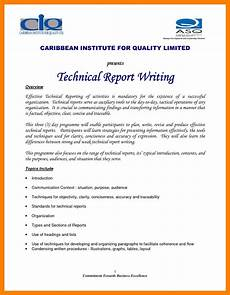 Report Writing Format Download 10 Technical Report Writing Examples Pdf Examples