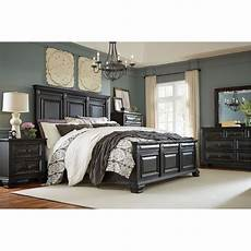 black traditional 6 king bedroom set passages rc