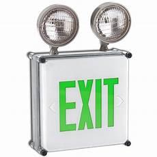 Location Exit Light Combo Siltron Wlx 2h Series Location Nema Led Exit Sign