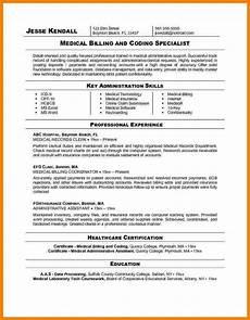 Medical Billing Job Description For Resume 9 Resume Medical Billing Specialist Sample Travel Bill