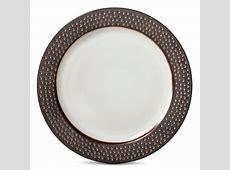 Threshold Barnet Bronze Round Salad Plate   Set of 4
