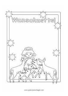 Ausmalbilder Weihnachten Wunschzettel Wunschzettel Engel Rehe Gratis Malvorlage In Spiele