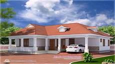 kerala style 4 bedroom house plans single floor