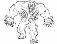 Easy Venom Coloring Pages 15 Free Printable Venom Coloring Pages