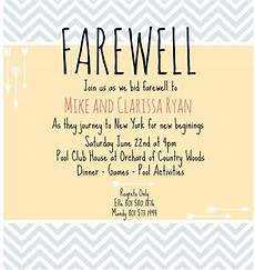 Invite To A Party Wording Farewell Card Write Up In 2020 Going Away Party