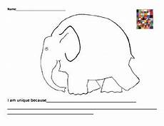 Elmer The Elephant New Vocabulary By Librarian Lounge Tpt