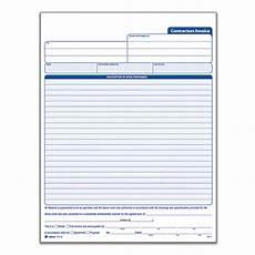 Adams Invoices Adams Carbonless Contractors Invoices 3 Part 50 Sets By