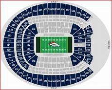 Broncos Tickets Seating Chart Real Denver Sports Denver Broncos Season Ticket Glut