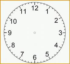 Malvorlage Uhr Ohne Zeiger Perfekt Zifferblatt Vorlagen Ausdrucken Kostenlos