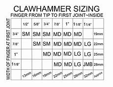 Thumb Pick Size Chart Perfect Touch Finger Thumb And Clawhammer Pick Sizing