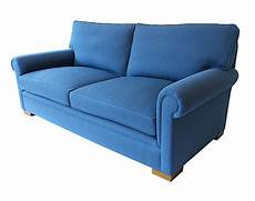 Blue Leather Sofa Png Image by Ascot Sofa Kingston Traditional Upholstery