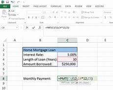 Calculate Loan Payments Excel How To Calculate A Monthly Loan Payment In Excel