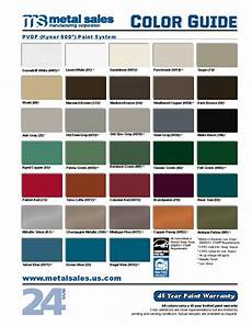 Tin Roofing Color Chart Metal Roofing And Siding Colors Finishes Guides And