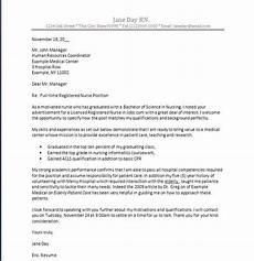 New Graduate Nursing Cover Letter Samples Nursing Cover Letter New Grad Nurse Cover Letter Example