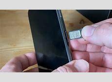 SIM Karte wechseln am Apple iPhone 11 Pro Max Anleitung