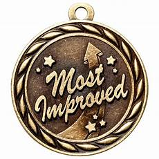 Most Improved Award Most Improved Medal Scholastic Medal Express Medals