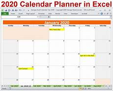 free weekly calendar template 2020 2020 calendar year planner excel template 2020 monthly etsy