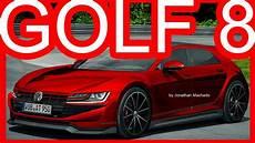 volkswagen golf hybrid 2020 photoshop new 2020 volkswagen golf mk8 gti hybrid 400 hp
