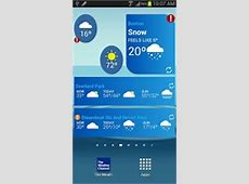 The Weather Channel   Android Widget   AndroidWidgetCenter.com