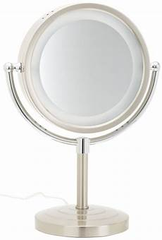 Jerdon Lighted Mirror Jerdon Hl745nc 8 5 Inch Halo Lighted Vanity Mirror With 5x