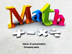 Math Powerpoint Presentation Math Addition Presentation Template For Powerpoint And